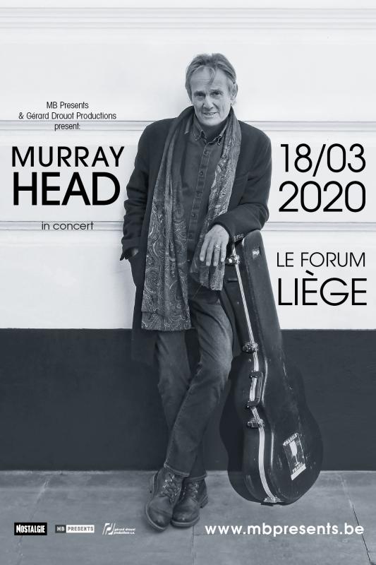 Affiche Concert Murray Head - Forum - Liège