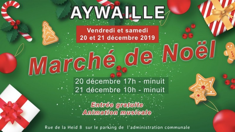 Marché- oël - Aywaille - Affiche