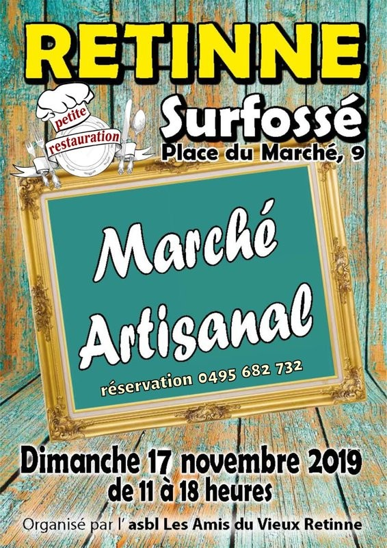 Marché artisanal - Retinne - Affiche 2019