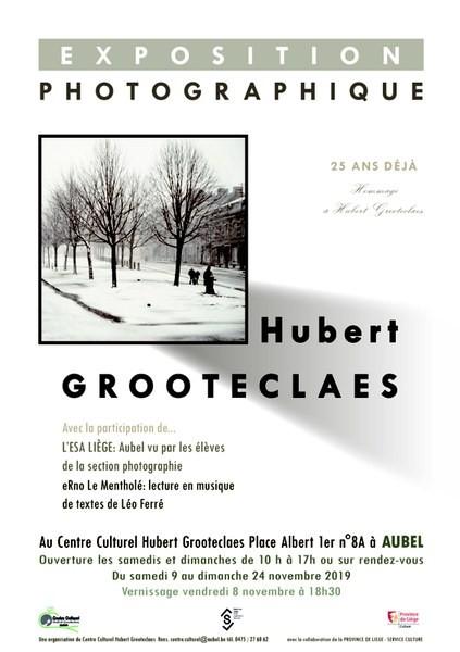 Exposition photographique Hubert Grooteclaes