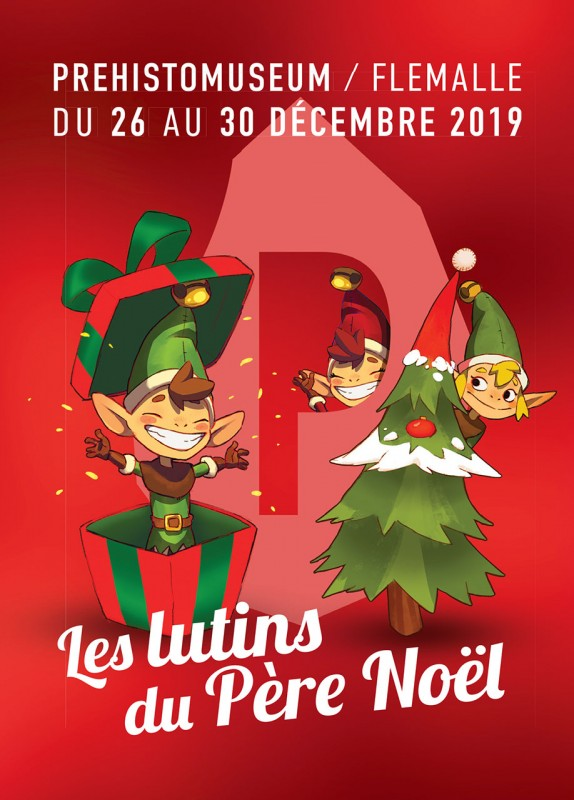 Lutins Père Noël - Ivoz-Ramet - Affiche