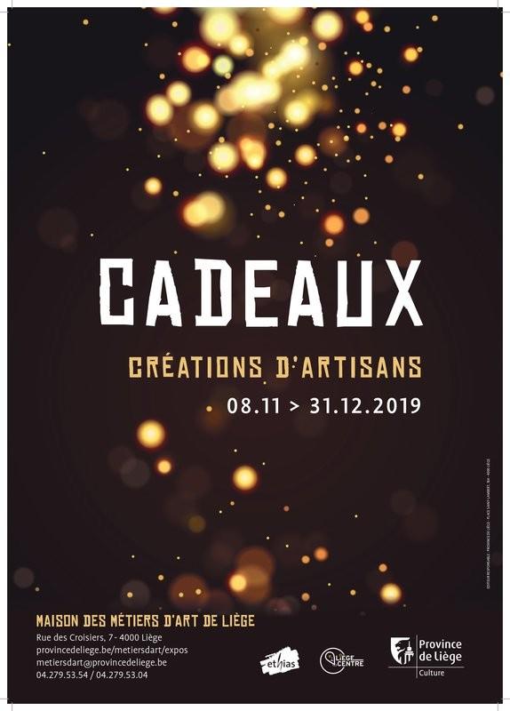 Exposition Cadeaux - Liège - Affiche 2019