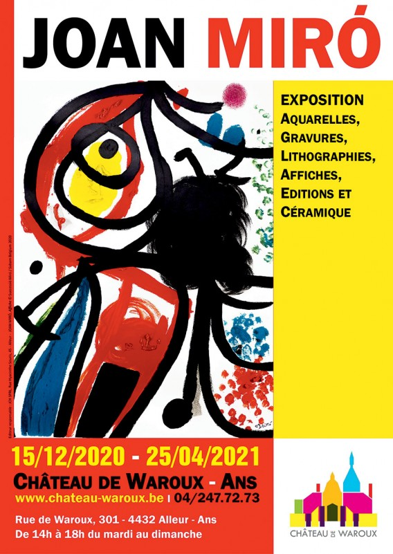 Exposition Joan Miró - Alleur - Affiche mise à jour