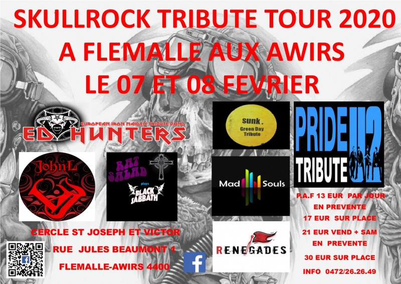 Skullrock - Awirs - Affiche