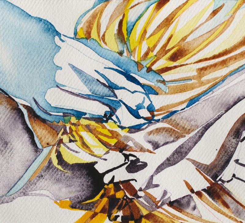 Exposition d'aquarelles par Geneviève Babe