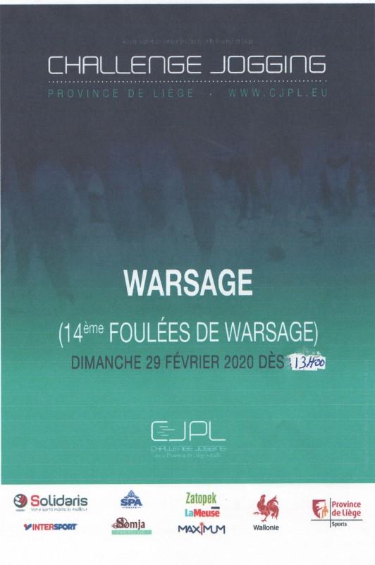 14e Foulées de Warsage