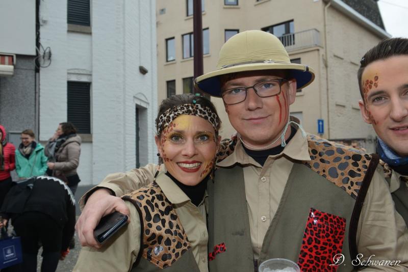 22 février - balade AGAV carnaval limbourg