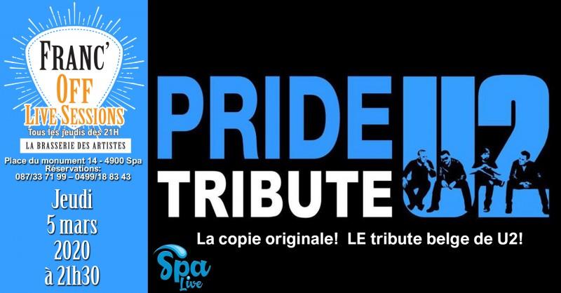 Spa Live-Franc'Off-Pride plays U2