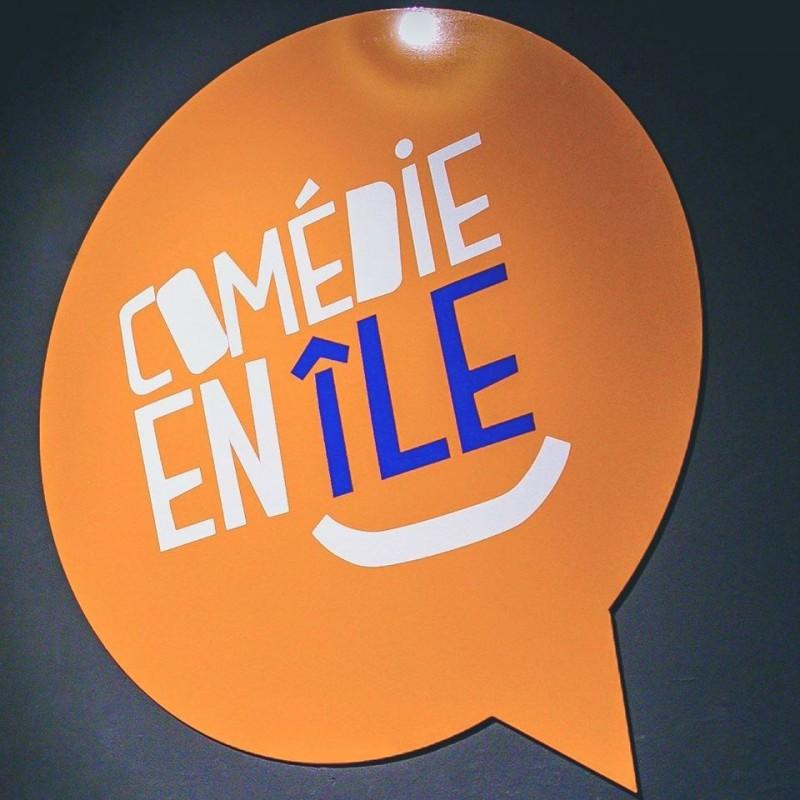 Comédie en Ile - Logo