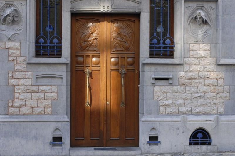 La maçonnerie dans le quartier des Guillemins