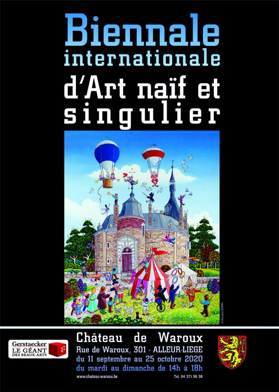 Biennale - Waroux - Affice