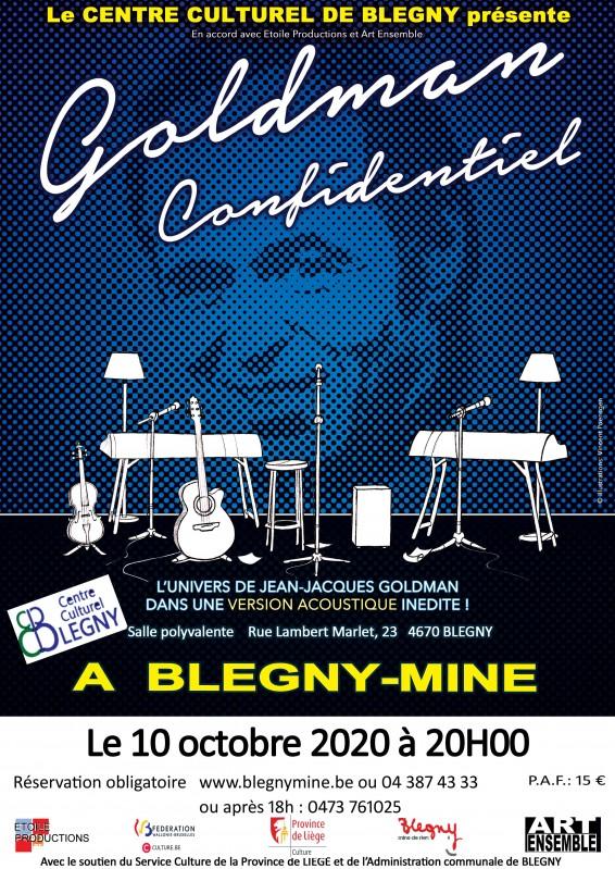 Concert - Goldman confidentiel