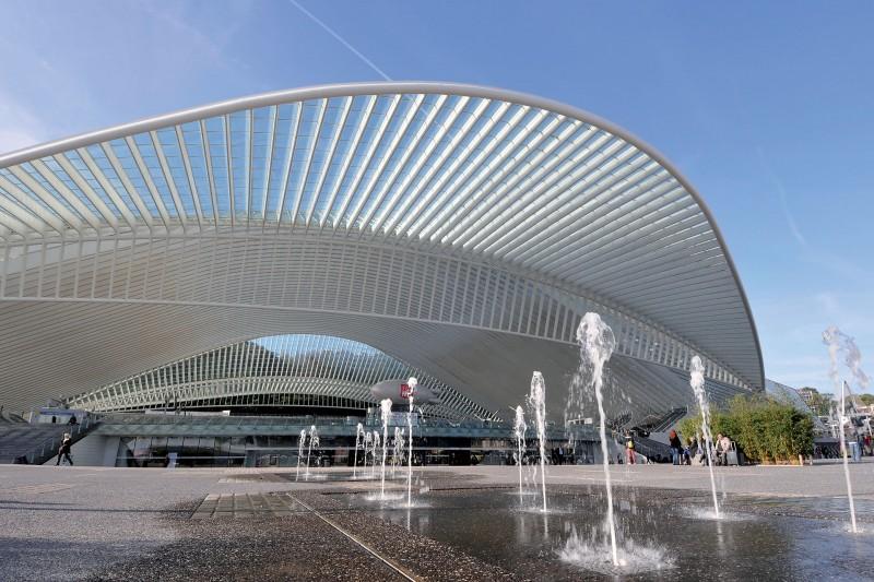 La gare de Calatrava invitation au voyage
