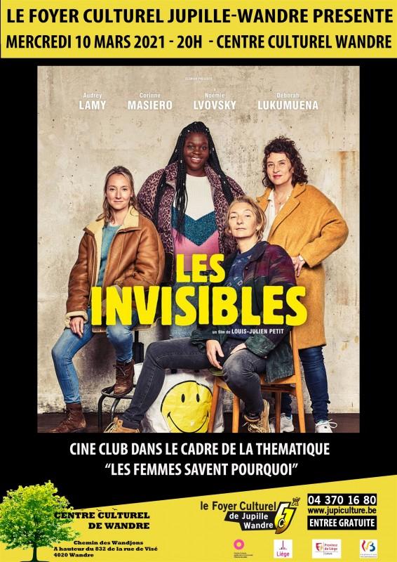 Ciné Club - Les Invisibles - Affiche