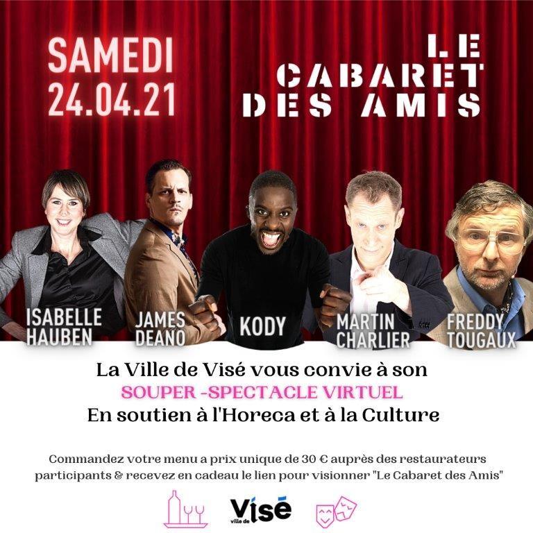 Cabaret des amis ©Ville de Visé 04-2021