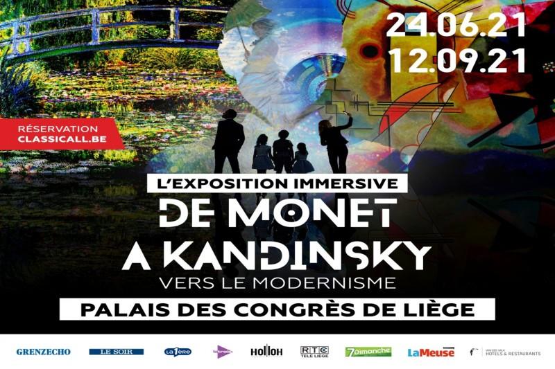 De Monet à Kandinsky - Affiche