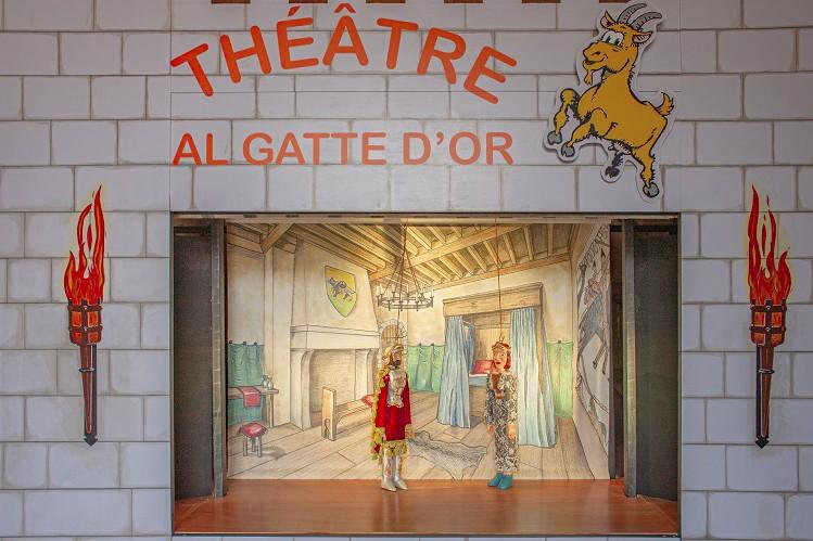 Spectacle Marionnettes du Théâtre Al Gatte d'or
