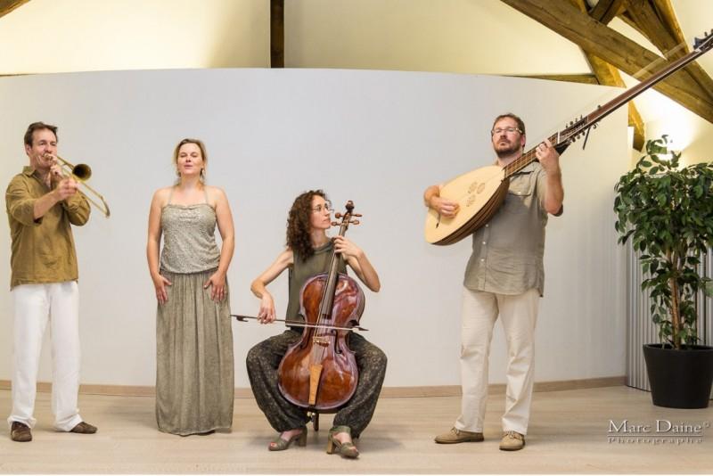 500e anniversaire du siège du Château Fort de Logne - Concert - Altro Tempo