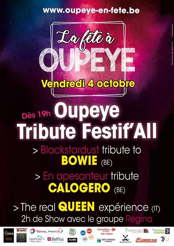 Oupeye - Tribute Festif All - Affiche 2019