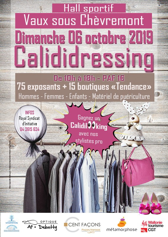 Calididressing - Chaudfontaine - Affiche