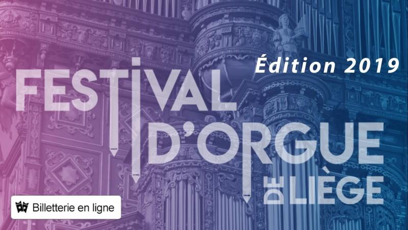 Festival d'Orgue - Liège - Affiche