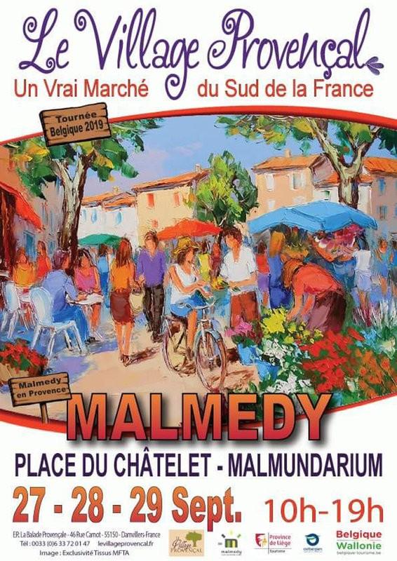 Village provençal - Malmedy - Affiche 2019