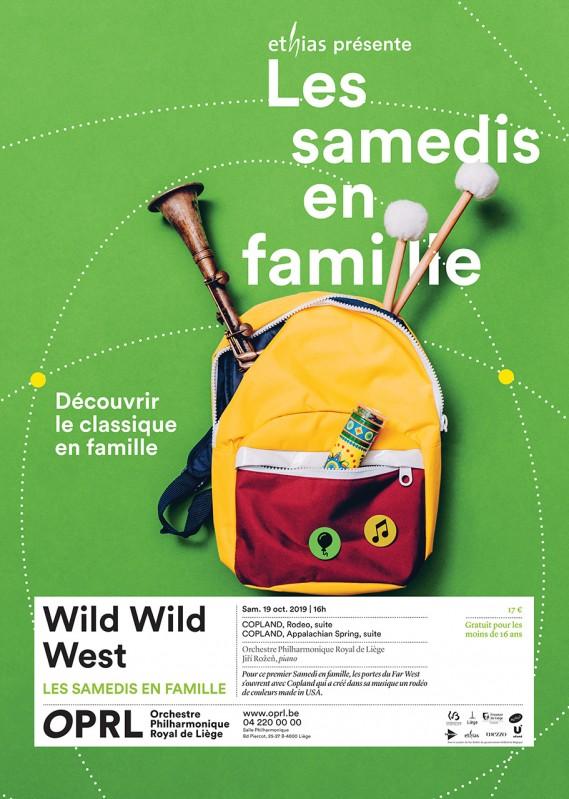 Concert Wild wild west - Liège - salle philharmonique