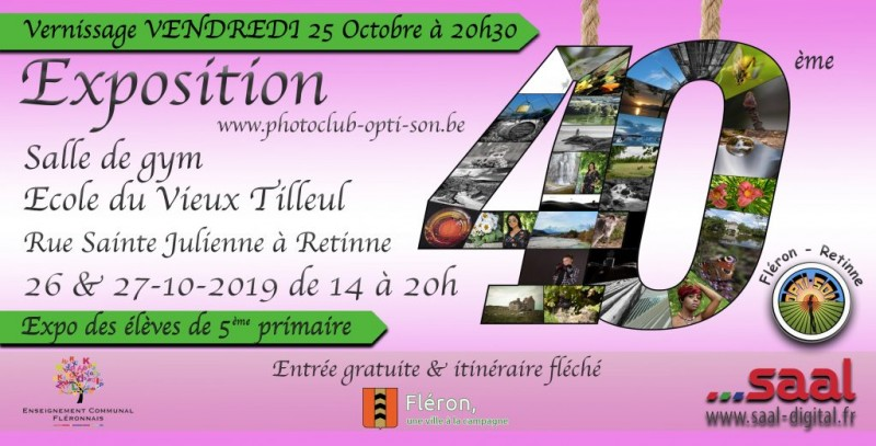 40e édition de l'exposition photo du Photo Club Opti-son
