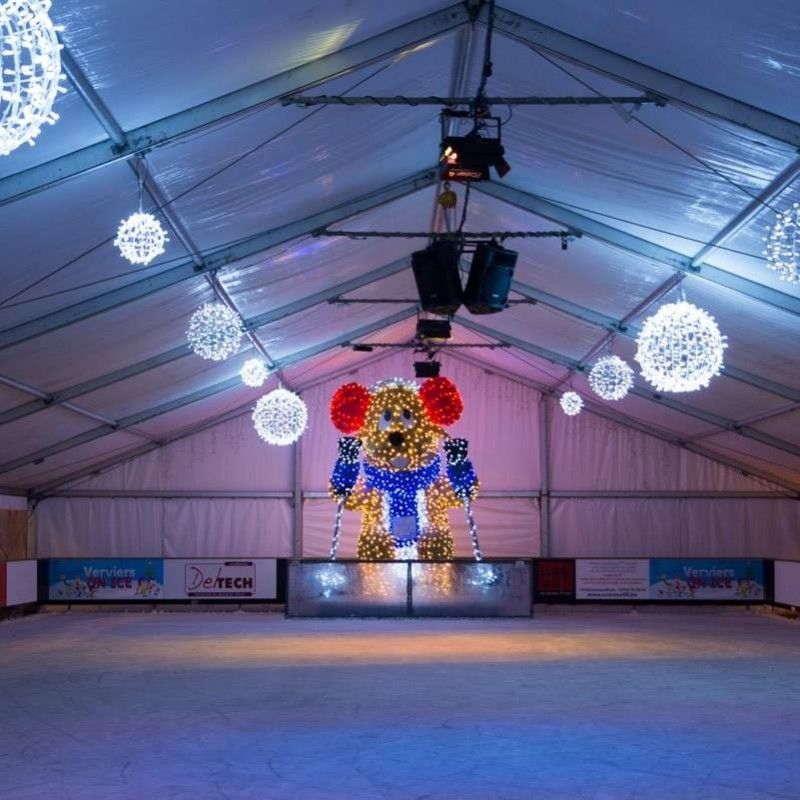 Verviers on Ice - Patinoire