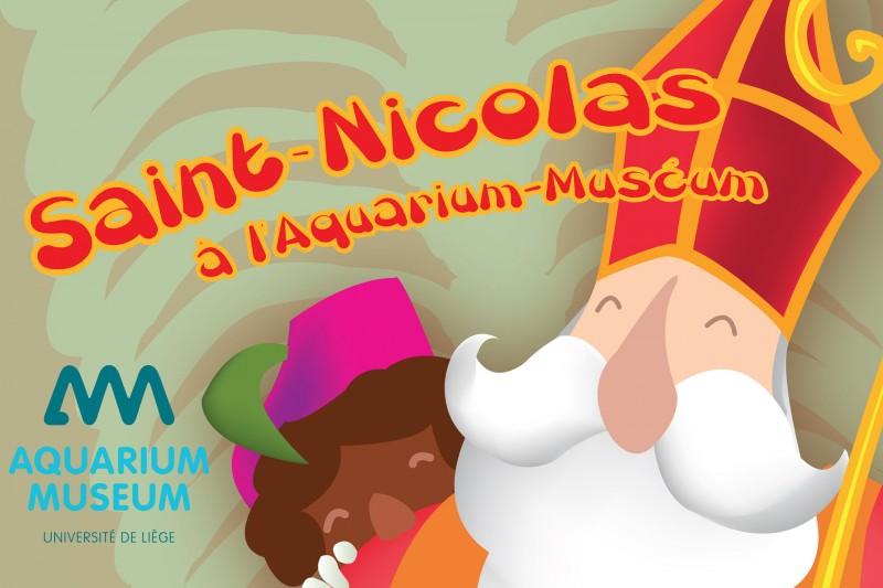 Aquarium-Museum Saint-Nicolas - Liège - Affiche