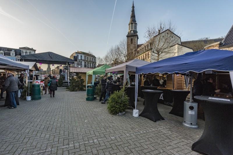 Marché de Noël - Verviers - Stands Artisans